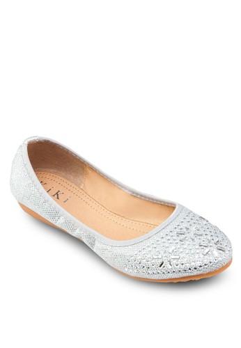閃鑽鑲嵌娃娃鞋, 女鞋esprit台灣outlet, 鞋