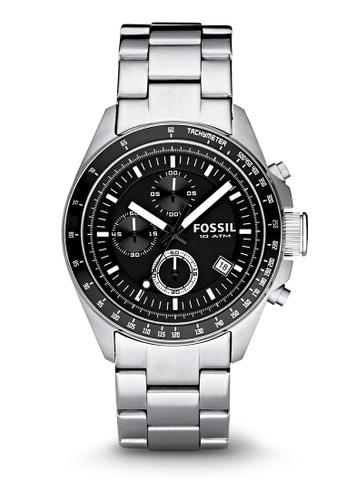 Fossil silver Decker Chronograph Watches FO359AC0K931PH_1