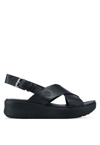 Timberland black Los Angeles Wind Slingback Sandals 23060SHD2D784BGS_1