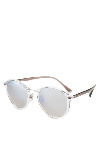 Ray-Ban white RB4242 Sunglasses RA896GL87GRSMY_1