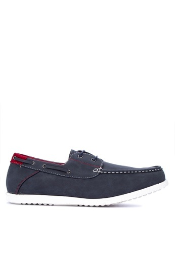 H2Ocean blue Tarick Boat Shoes 26828SH066FD12GS_1