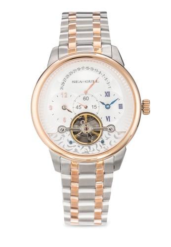 esprit home 台灣217.411 ST2573 41mm 機械金屬鍊錶, 錶類, 飾品配件