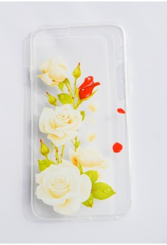 Roses Soft Transparent Case for iPhone 6/6s