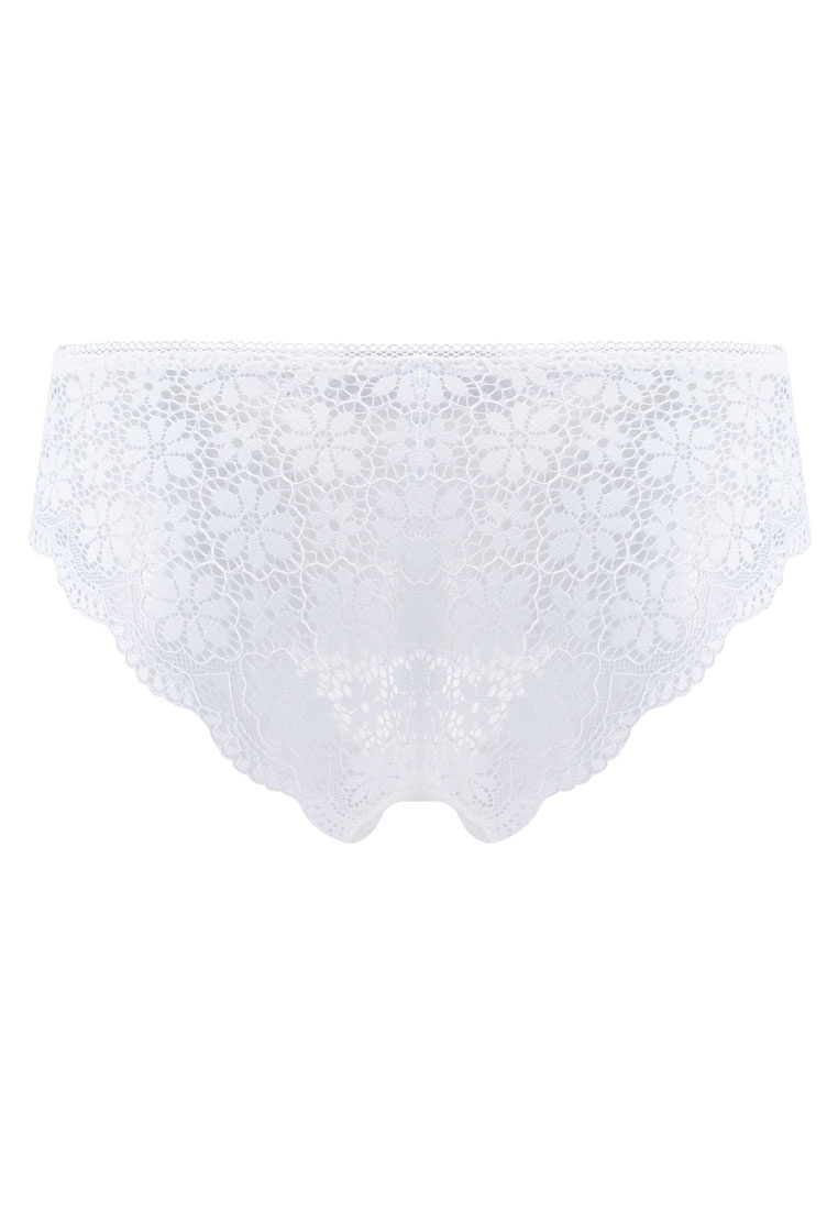 Panties 6IXTY8IGHT White Lace Band Hipster Cheeky Daisy 00qRxCz