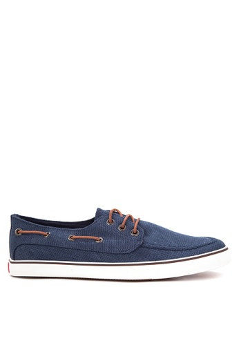 Italianos blue Jerry Boat Shoes IT153SH79BSIPH_1