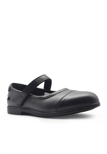 Hush Puppies black Kid's Casual Shoes Beverly Mary Jane Toe Cap FE538KS3B6098CGS_1