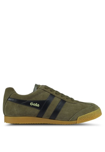 Gola green Harrier Sneakers 2BD6CSHF008D15GS_1