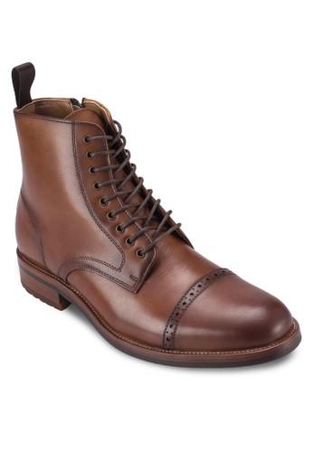 Beoduca 沖孔繫帶高筒靴, 鞋, esprit童裝門市鞋