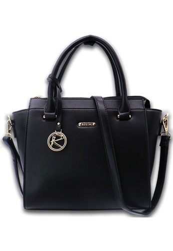 RUCINI black Rucini Rochelle Satchel Handbag C2B2AACDD80220GS_1