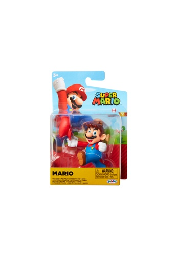 Kidmoro Nintendo Super Mario: W23 MARIO 2.5-inch Figure with Simple Articulation 19044ESE48C1B7GS_1