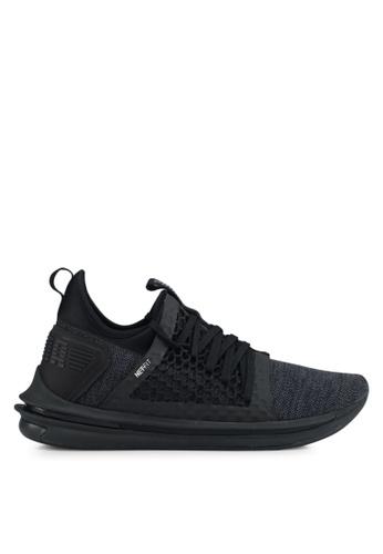 Puma black Ignite Limitless Sr Netfit Shoes PU549SH0SWDDMY_1