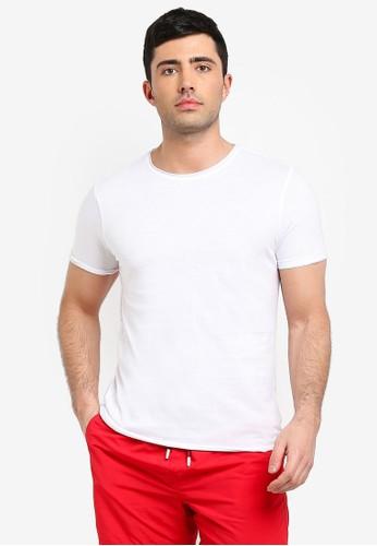 Brave Soul white Fresher Roll Neck T-Shirt A27F4AA9EBA591GS_1