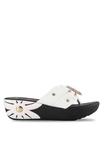 Clarette white Sandal Ernestine CL076SH0UDWWID 1 e988b32257