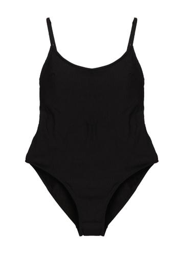 H&M black Swimsuit High Leg DBB94US6B8693DGS_1