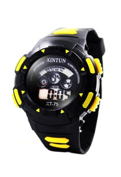 Gayle Unisex Silicone Strap Sports Watch XT-75