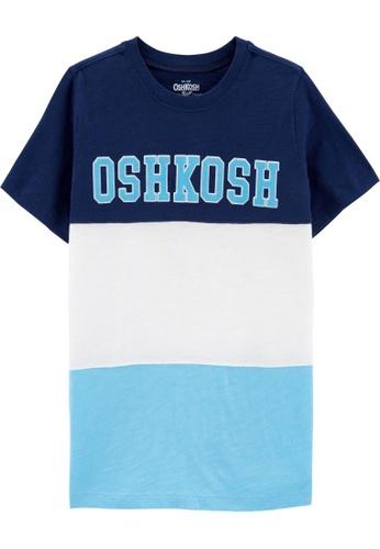 Oshkosh B'gosh multi OSH KOSH Boy Logo Mid Tier Pieced Short Sleeve Tee 78BCBKA9BF1FF1GS_1