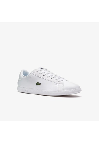 Lacoste multi Lacoste Men's Graduate Leather Trainers - Graduate BL 1 SMA 9E330SHA5C3630GS_1