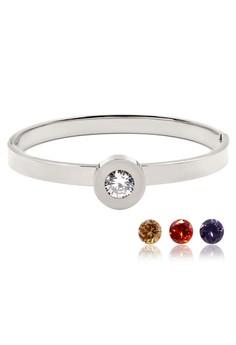 Venice Replaceable Crystal Bracelet Bangle