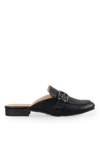 Footspot black Lady Donna - Trendy Mule Shoes AF7BBSH01F7145GS_1