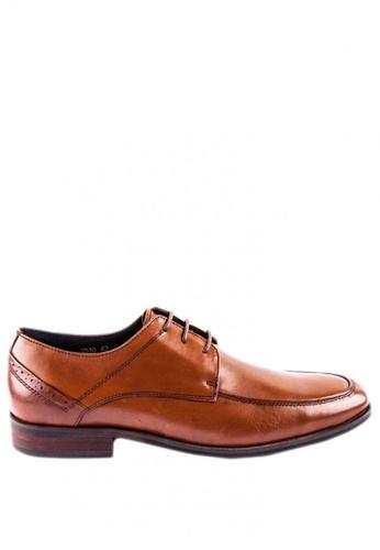 Otto brown Derby Shoes 37342SH8E958A8GS_1