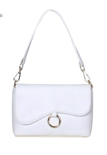 Verchini white Verchini Asymmetrical Shoulder Bag 2852BACCB549E5GS_1