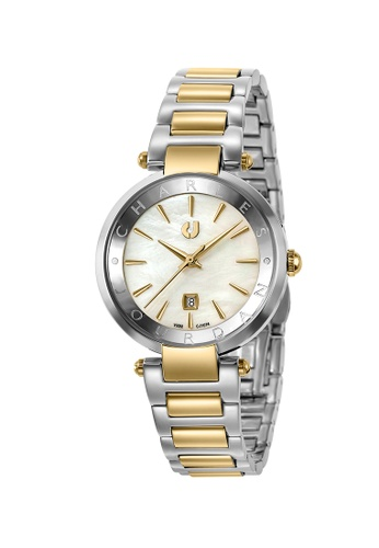 Charles Jourdan gold CHARLES JOURDAN LADIES ELEGANCE QUARTZ  FCBE2AC9316114GS_1