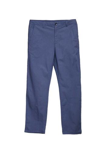 LC Waikiki blue Standard Fit Trousers BDA04AAC97FF71GS_1