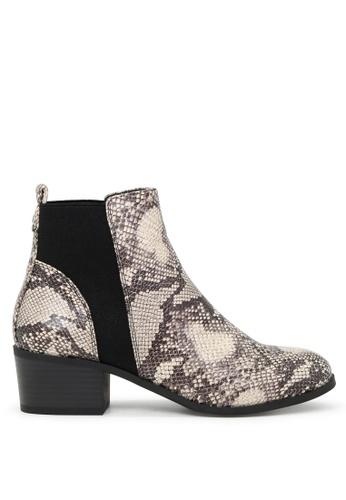 London Rag 黑色 黑色靴子 SH1721 ECC5FSH8EC29BCGS_1