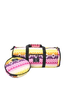 Sunny Tribal Duffle Version 2.0 (with Shoe Compartment)