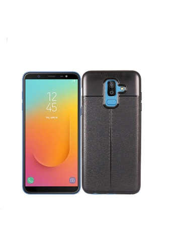 the best attitude 26aac 6262c Samsung Galaxy J8 Autofocus Silicone Back Cover Case