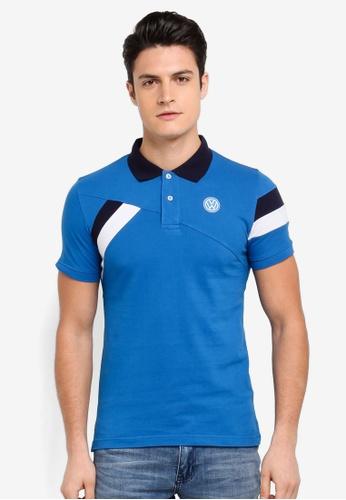 Volkswagen blue Volkswagen Polo Shirt 934F0AA1B0304DGS_1