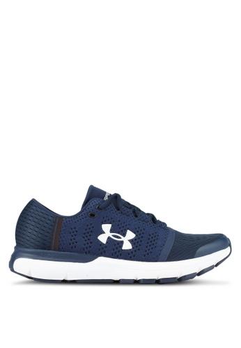 Under Armour blue UA Speedform Gemini Vent Shoes UN337SH0SUA9MY_1