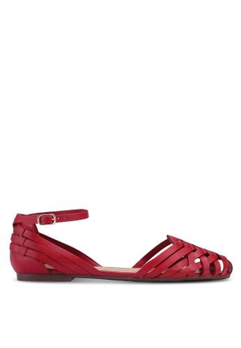 Anacapri 紅色 Eco Firenze 平底鞋 22AA7SH4384043GS_1