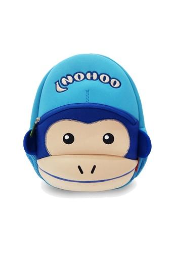 Nohoo blue Nohoo Kids Backpack Monkey (Blue) 10CEFKCF9AC448GS_1