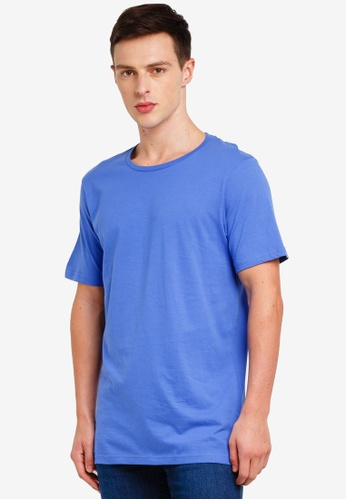 Cotton On 藍色 Essential Crew Tee 5CB5AAA14276D5GS_1