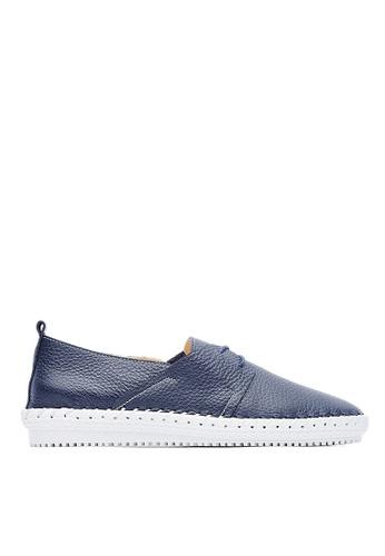 Life8 blue Leather casual shoes-09623-blue LI283SH0GNU5SG_1