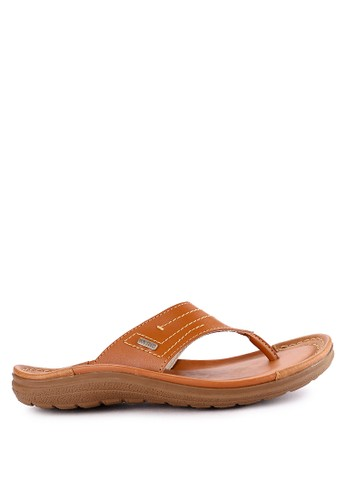 Watchout! Shoes brown Thongs 9F8F7SHAD4659EGS_1