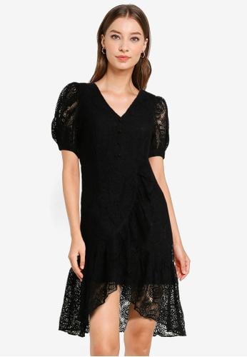 Urban Revivo black Lace Dress 41766AA1D42BA2GS_1