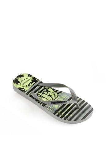 Havaianas grey 4 Nite Flip Flops E1DB4SH827C3E8GS_1