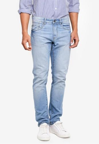OVS 藍色 經典丹寧牛仔褲 799E0AA3D23985GS_1