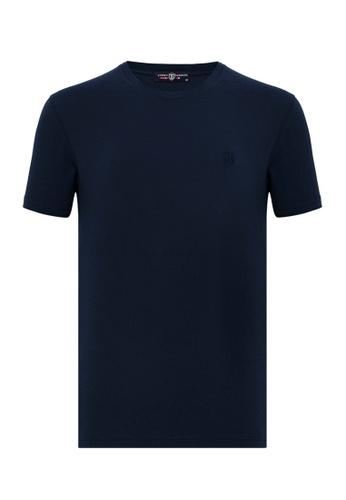 Jimmy Sanders Jimmy Sanders Men's Plain T-Shirt 48E17AA2F435B0GS_1