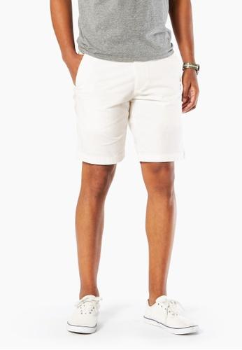 Dockers white Dockers Slim-Straight Shorts Cotton 9DA9CAA2E2394DGS_1