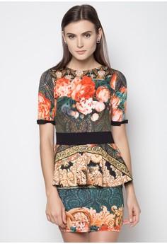 Amanda Peplum Dress