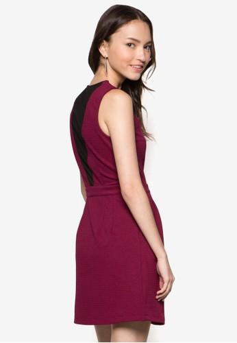 背部薄紗束腰esprit hk洋裝, 服飾, 服飾