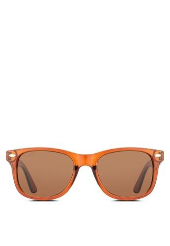 Phoenix 矩形太陽眼鏡, 飾品配esprit tst件, 飾品配件