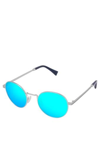 Hawkers silver HAWKERS Silver Clear Blue MOMA Sunnies DB3A0GL7ADD8E7GS_1