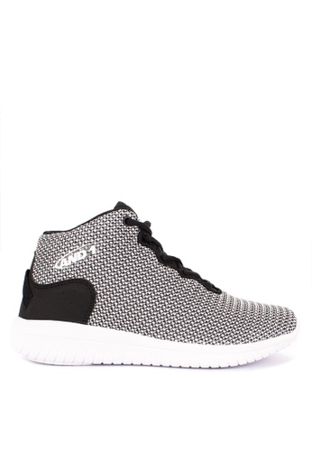 And1 grey and multi B'Wylin Basketball Shoes E66E1SHC1339D0GS_1