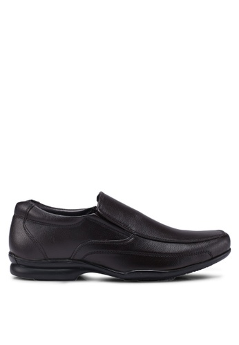 Bata brown Slip-On Dress Shoes B8396SH21D50FFGS_1