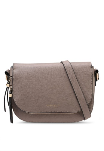 Carvela KG brown Soula Day Saddle Zip Crossbody Bag AA05AACAF83EDBGS_1