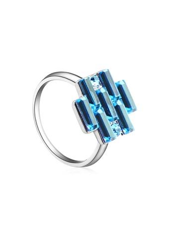 OUXI blue OUXI Crystal Ring - 40158 (Aquamarine) OU821AC46LSNMY_1